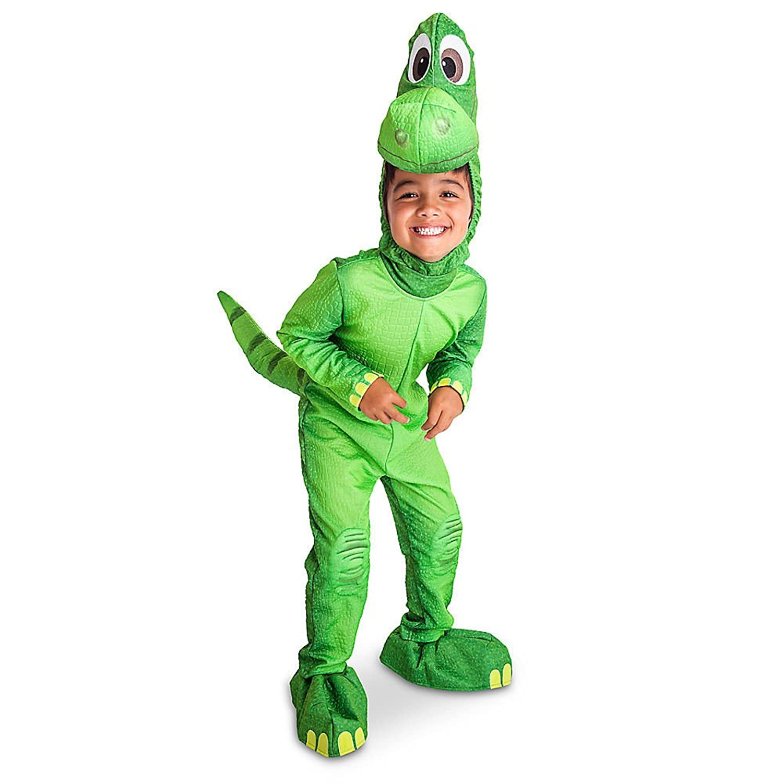 amazoncom disney store deluxe arlo the good dinosaur costume kids size xxs 3 3t clothing - Kids Disney Halloween Costumes