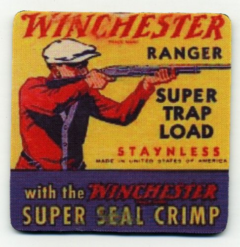 Winchester Ranger Trap Load Coaster Set - Ammo Box