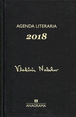 Agenda Nabokov 2018 (Fuera de colección): Editorial Anagrama ...