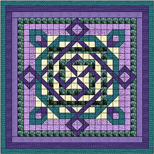 Quilt Kit Celtic Twist/Purple/Teal/Queen ()