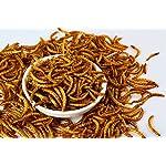 11lbs Bulk Non-GMO Dried Mealworms for Reptile, Tortoise ; Amphibian,Lizard ;Wild Birds; Chichens; Duck etc 12