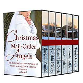 book cover of Christmas Mail Order Angels 1