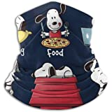 Snoopy Staying At Home Makes Me Happy Face Mask Bandanas For Dust, Outdoors, Festivals, Sports
