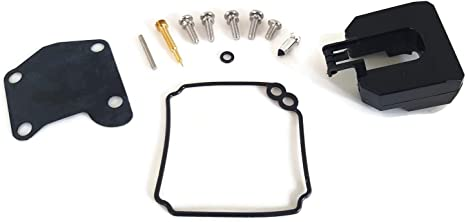 15HP 2T Carburetor Carb Repair Kit for Mercury Mariner 47-7058 Outboard 9.9HP