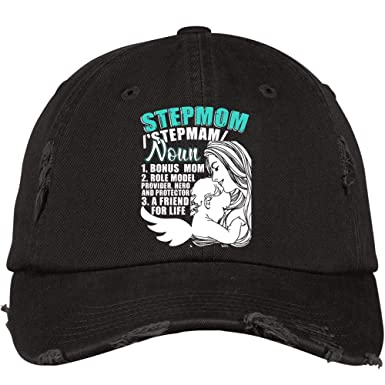 ac5483ae8 A Friend for Life Hat, Step Mama District Distressed Dad Cap ...