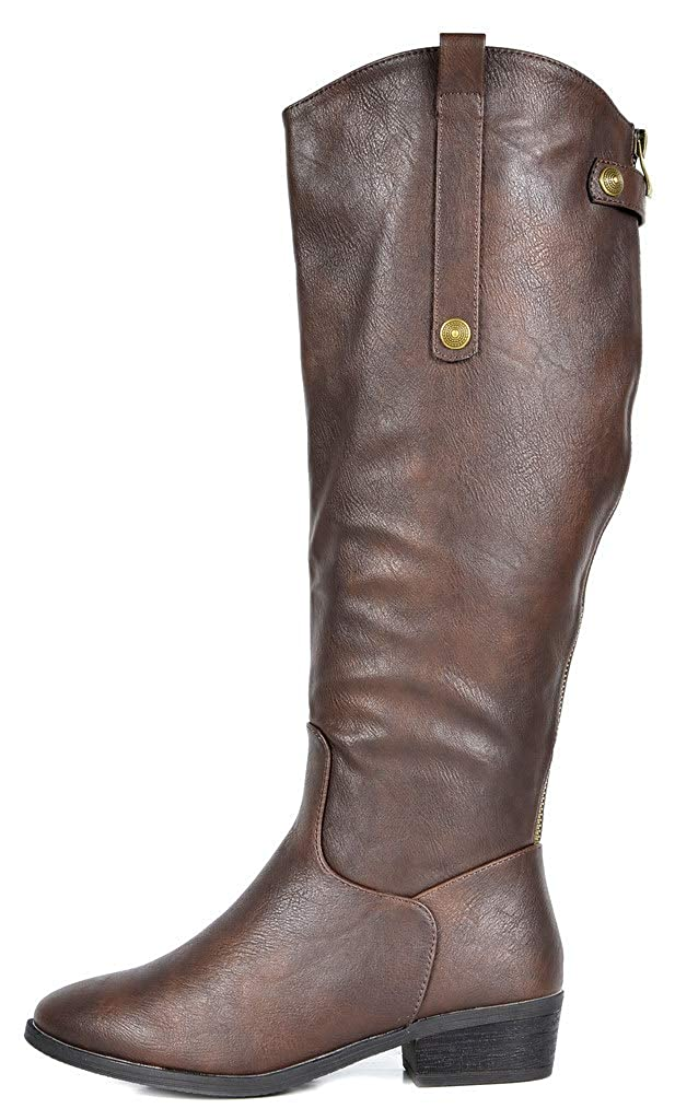 8bd884e9be Amazon.com | DREAM PAIRS Women's Koson Knee High Winter Riding Boots | Knee- High