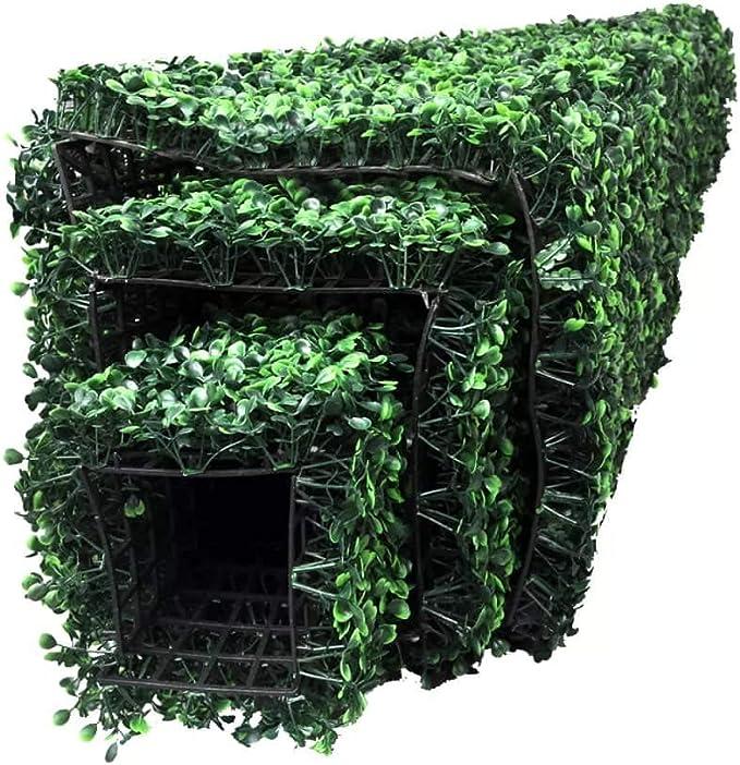 vidaXL Lot de 3 topiaires pyramidales en buis Artificiel Plantes artificielles