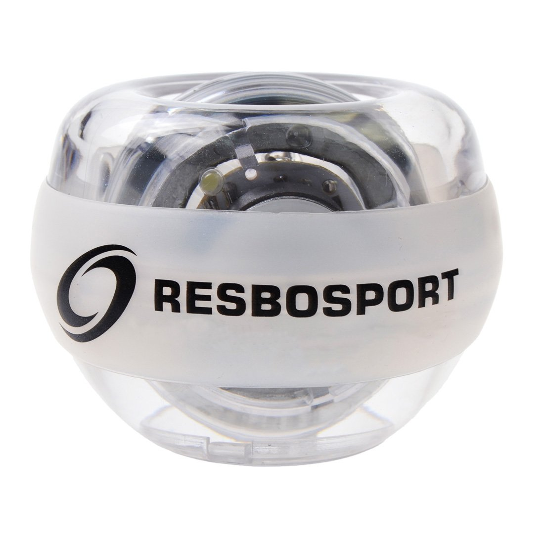 RESBO Wrist Trainer Ball Exerciser Hand Spinner Gyroscopic Ball Metal Type Gyro Ball with LED Light by RESBO SPORT (Image #9)