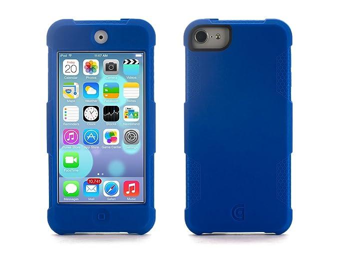 buy online 74e77 f36f5 Griffin Survivor Skin for iPod Touch (5th gen.), Blue