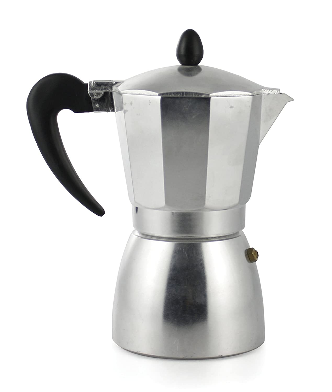 Galileo 2175874 3 Cup Espresso Maker, round base