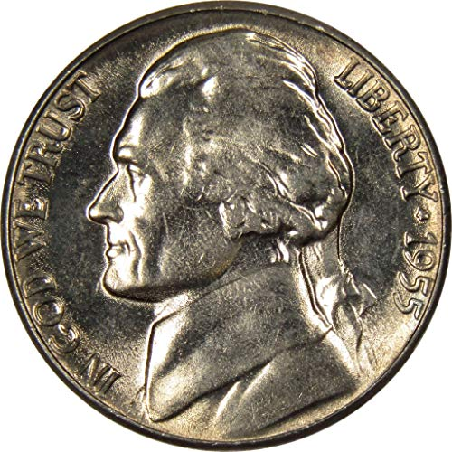 1955 5c Jefferson Nickel Uncirculated Mint State ()
