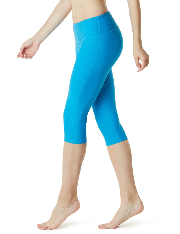 Tesla Yoga 17 Capri Mid-Waist Pants w Hidden Pocket FYC21/FYP21 Tesla Gears