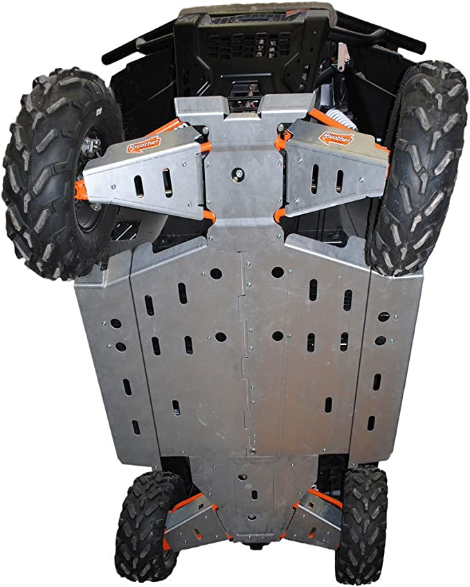 2016 2015 Polaris RZR 900 Trail /& XC Aluminum 10 Piece Skid Plate Set by Ricochet For Trail and XC 900 2017