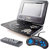 DVD 7 Portátil Com Game,Leitor Sd Card,USB, Rádio Fm Kp-D114