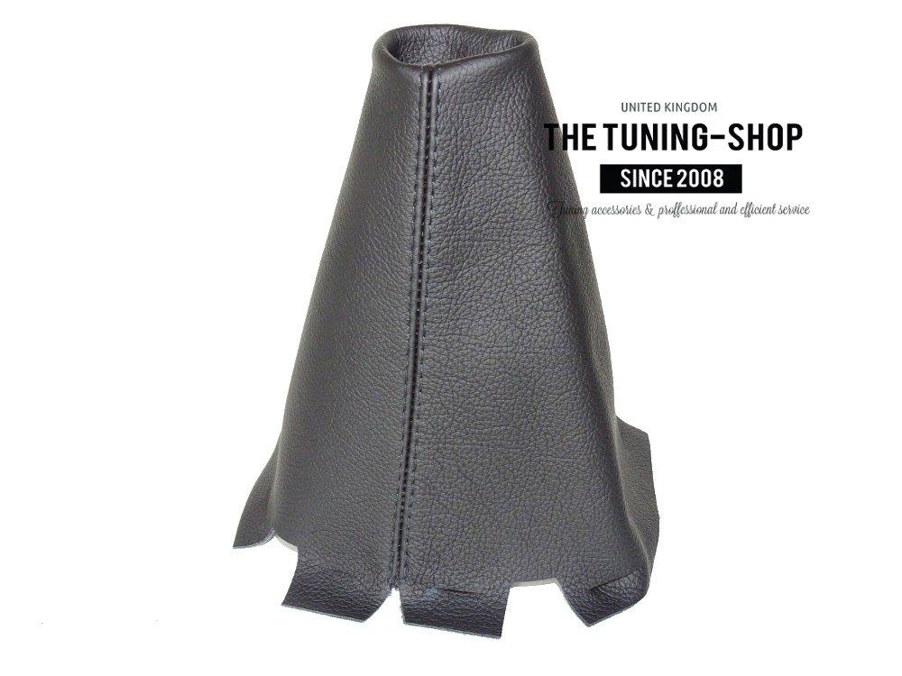 The Tuning-Shop Ltd Gear Gaiter Black Italian Leather
