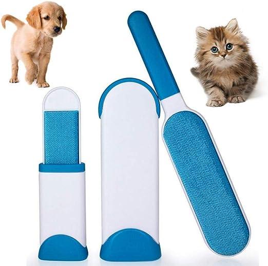 NASZE Cepillo para Quitar pelos de Mascotas (Perro/Gato), portátil ...