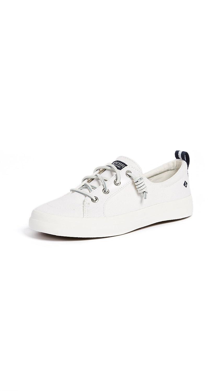 Sperry Crest Vibe Linen, Sneaker DonnaBianco (White 10)