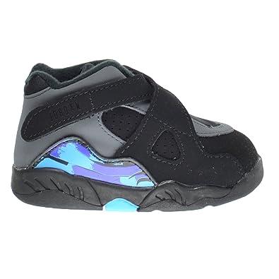 newest 0f360 eed9c Jordan 8 Retro BT Aqua Toddlers/Infants Shoes Black/True Red/Flint  Grey/Bright Concord 305360-025