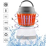 Peikai Bug Zapper Lamp& Camping Lantern-2 In 1 LED Lamp Charge Via USB-Lightweight Camping Gear & Accessories For Indoor & Outdoors, Home & Traveling & Emergencies-IP67 Waterproof-Compact- 2200mAh