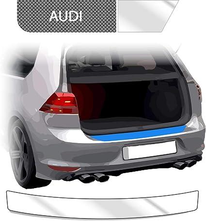 Audi a4 avant b7 à partir de 2004 Seuil 3d Carbon Argent