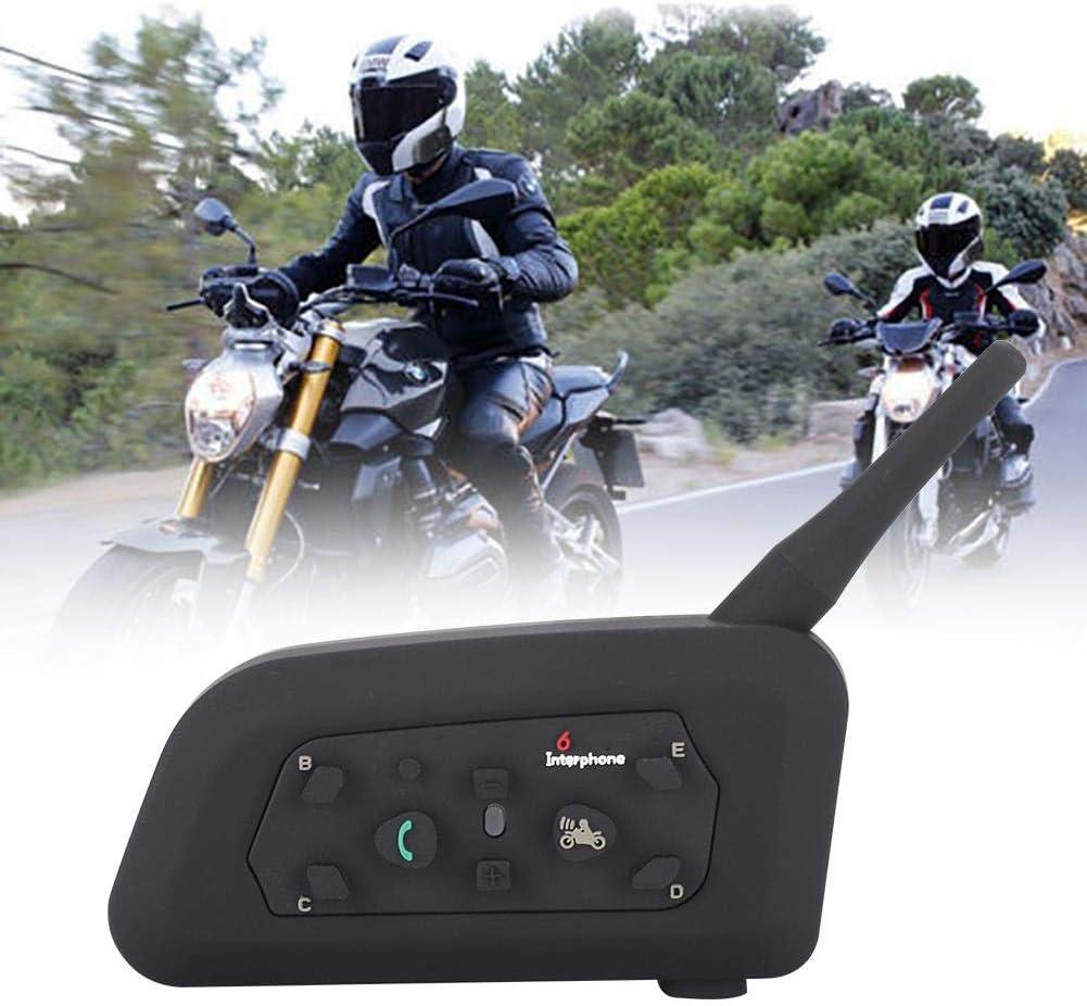 BTIHCEUOT Casque sans Fil Bluetooth Intercom 1200 m/ètres dinterphone sans Fil pour Motards Unique