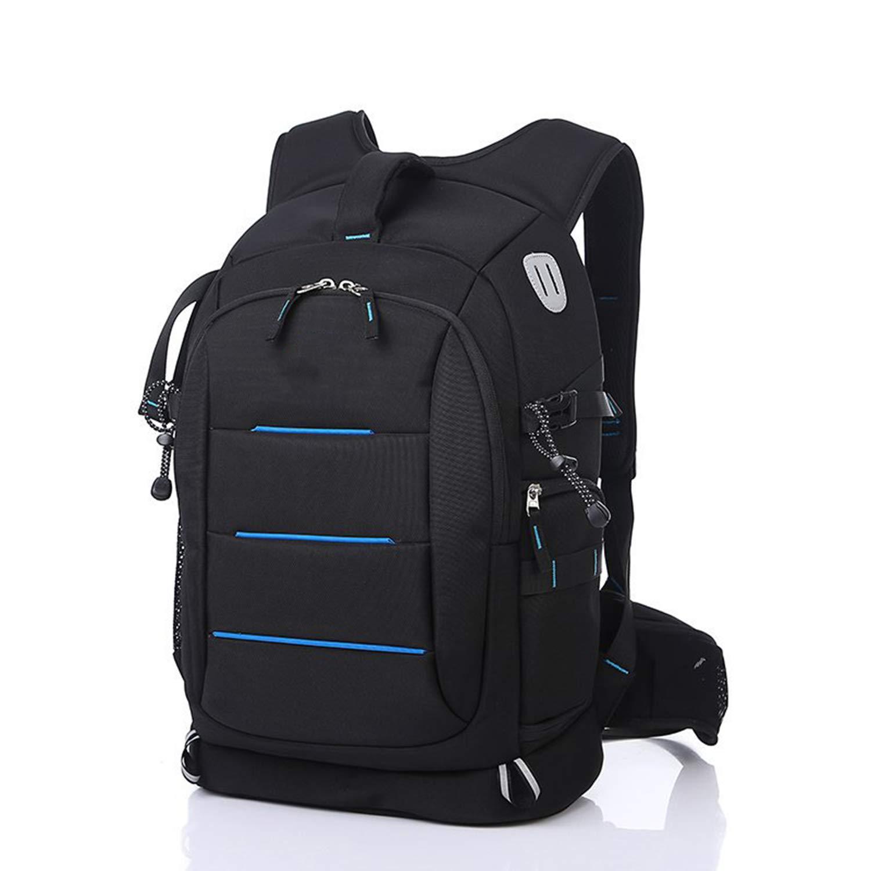 カメラのバックパック多機能カジュアルバッグ雨のカバーと大容量防水ナイロン屋外トラベルバッグ B07HXZTZ4V A