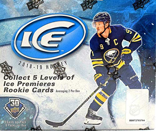 2018 Upper Deck Ice - 2018/19 Upper Deck Ice NHL Hockey HOBBY box (6 pks/bx)