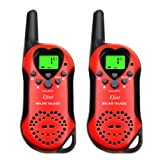 Amazon Price History for:Walkie Talkies for Kids, 2 Way Radio Walkie Talkies 2 Miles (Up to 3.7Miles) Handheld Mini Walkie Talkies for Kids (1 Pair) RED