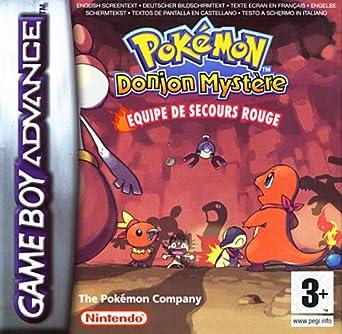 pokemon donjon mystere equipe de secours rouge gba