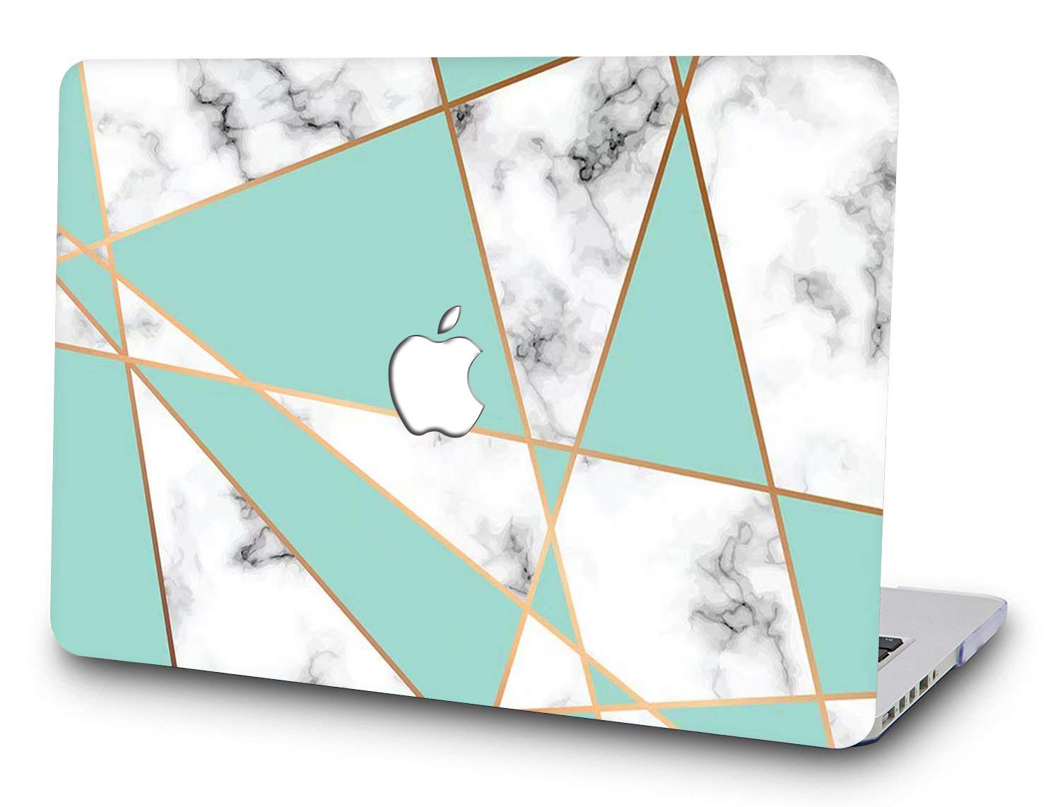 Irregular Marble SAYA Protective Waterproof Hard Case Cover Shell for MacBook Pro 13 Inch Model A 1278 Non-Retina