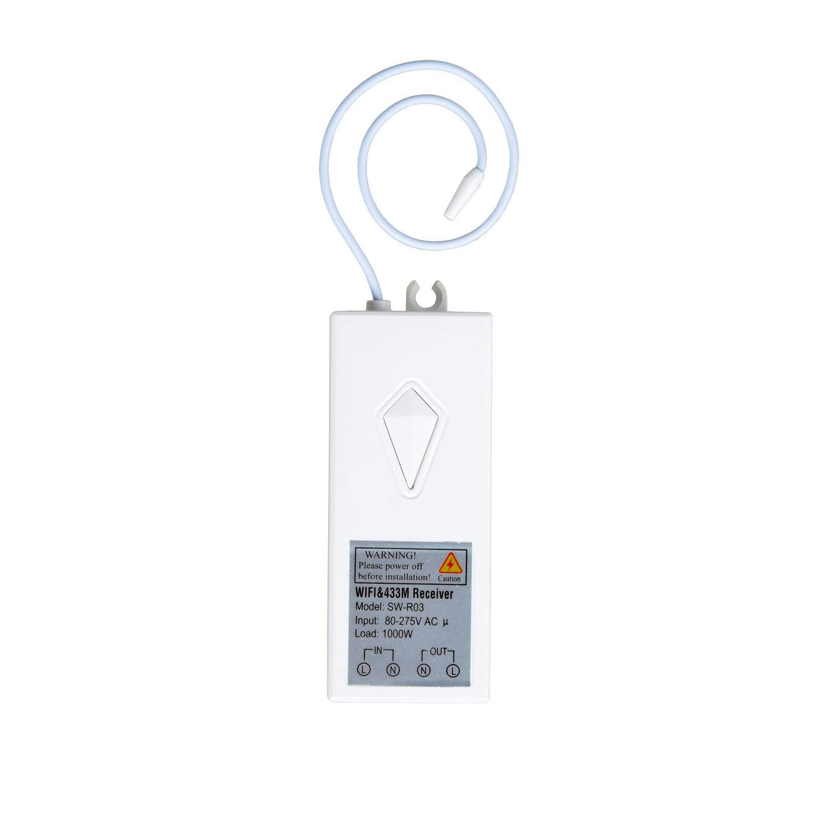 Superink Wifi Wireless Light Switch Receiver Work With