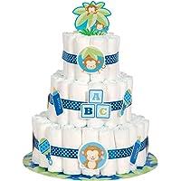 Decoración para fiesta de nacimiento de niño