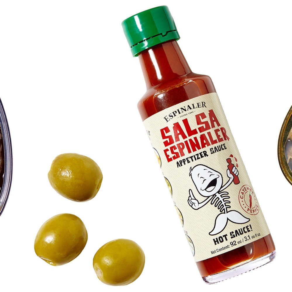 Amazon.com : Salsa Espinaler Hot Spanish Sauce - 12 pack : Grocery & Gourmet Food
