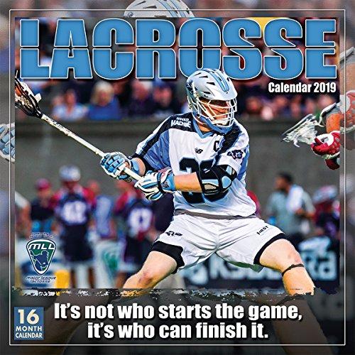Lacrosse 2019 Wall Calendar, 12 x 12, - Calendar Wall Player