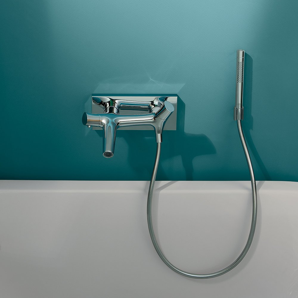AXOR Axor 12410001 Starck Organic Thermostatic Tub Filler Wall ...