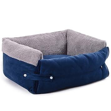 Cama para mascotas, incluye cojín transpirable y extraíble ...
