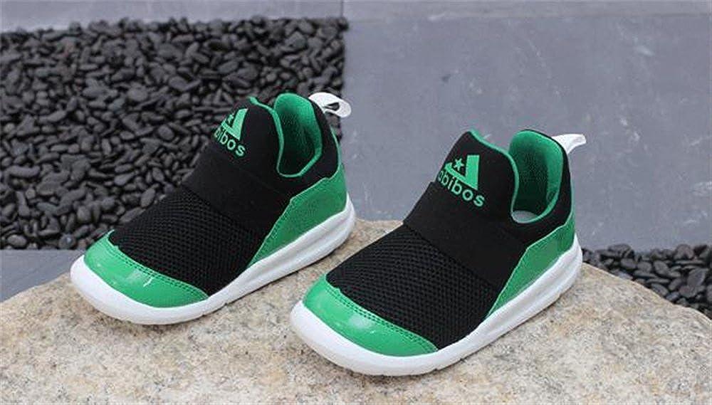 YUBUKE Kids Casual Lightweight Breathable Sneakers Easy Walk Sport Shoes