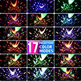 MOKOQI Star Projector Night Lights for Kids with