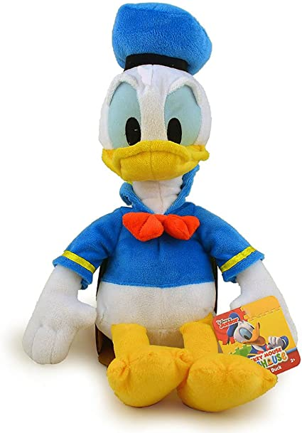 """Disney Mickey Mouse Clubhouse 17/"""" Donald Duck Plush"""