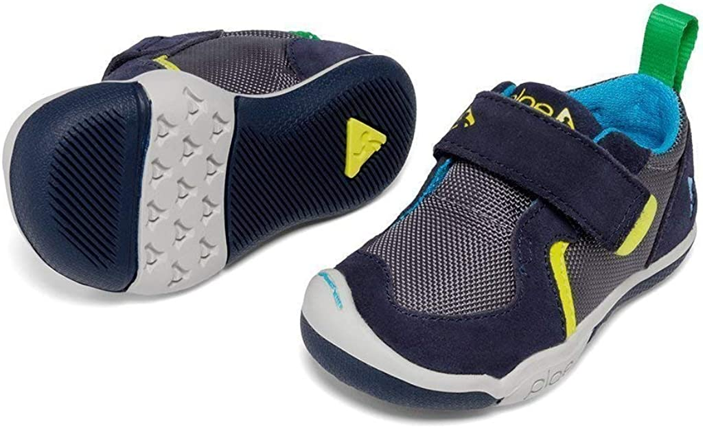 PLAE Ty Boys Sneaker Navy//Steel, size 3