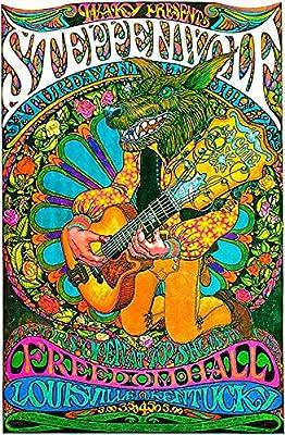 Steppenwolf - 1969 - Freedom Hall - Louisville, Kentucky Concert Poster