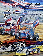 2000 - Bristol Motor Speedway - Dirt Weeks - Channel Lock Challenge / Pizza Plus / EcoQuest Living Air 100 - Souvenir Program - June 2 & 3 / June 9 & 10 - World of Outlaws / Has-A-Tampa Dirt Racing Series - Sammy Swindell / Mark Kinse...