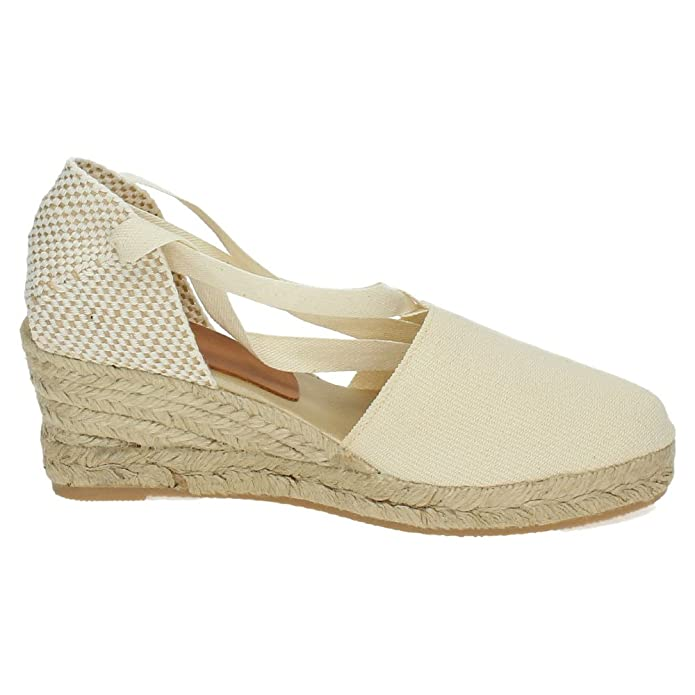 TORRES Valenciana VALENCIANAS DE Tela Mujer Alpargatas: Amazon.es: Zapatos y complementos