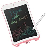 8.5 inch Writing &Drawing Board Doodle Board Toys for Kids,JRD&BS WINL Birthday Gift for 4-5 Years Old Kids & Adults Color LCD Writing Tablet with Stylus Smart Paper for Drawing Writer (Pink01)