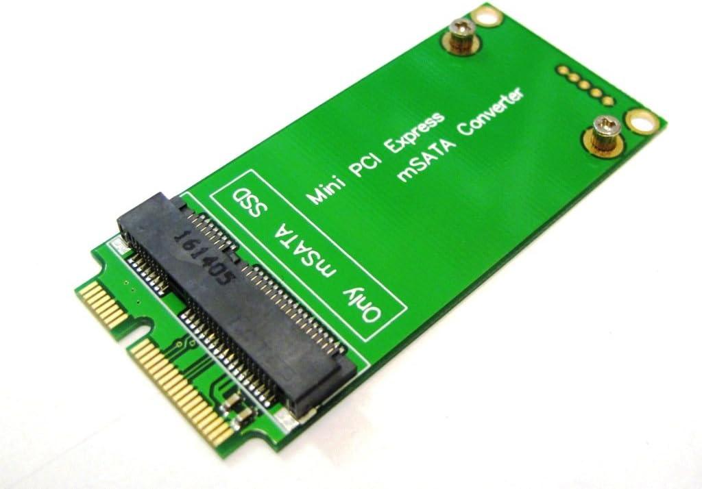 ASUS EEE PC 3x7cm Mini PCI-e SATA to 3x5cm mSATA SSD Adapter ...