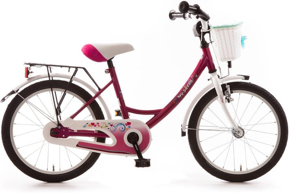 Bicicleta infantil 45.72 cm pulgadas (=45, 7cm) MY dream lila con ...