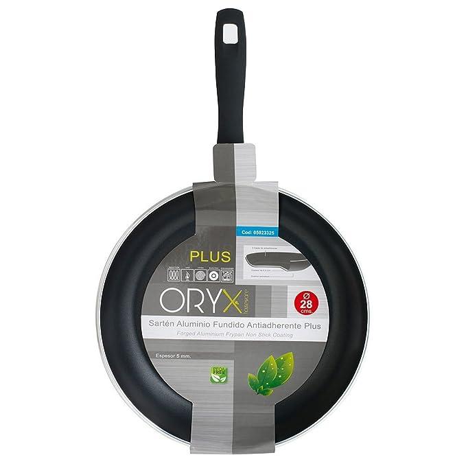 Amazon.com: ORYX 5023325 Frying Pan Aluminium Non-Stick Plus ...
