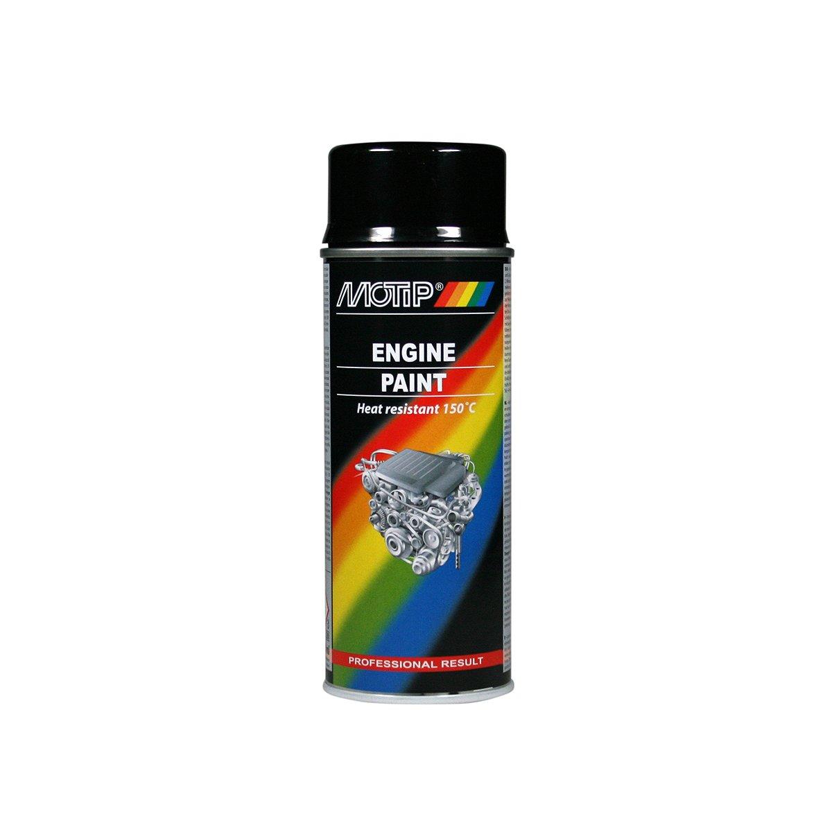 Bombe de Peinture pour moteur Motip (noir brillant) product image