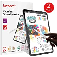 [2 Pack]Paperfeel iPad Pro 12.9 Screen Protector (2020 & 2018 Models Without Home Button),Paperfeel iPad pro 12.9 Matte PET Film for Drawing Anti-Glare and Paperfeel