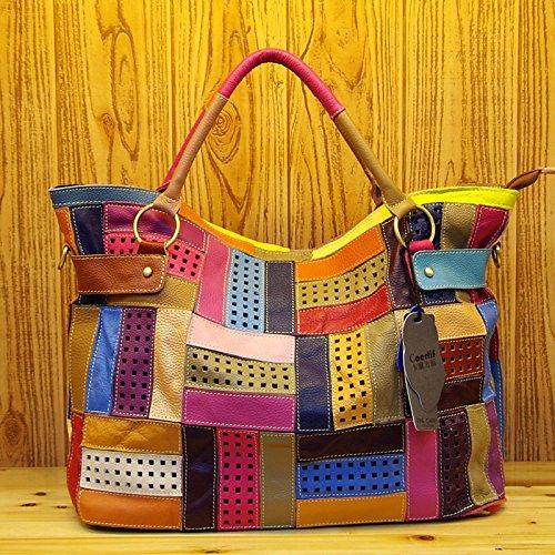 Bags Women's Gmyan Tote Rainbow Joint Split vwwrd5q